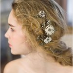 Metal Bride Hair Combs Gold Leaves Pearl Flowers Wedding Hair Accessories <b>Handmade</b> Bridemaid Hair <b>Jewelry</b> Bridal Party <b>Jewelry</b>