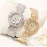 2017 Hot Sale Women Watches Lady Diamond Stone Dress Watch Gold <b>Silver</b> Stainless Steel Rhineston Wristwatch Female Crystal Watch