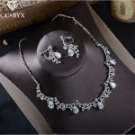 CC <b>Jewelry</b> necklace earring set for women necklace pendants female wedding party <b>accessories</b> cubic zircon crystal luxury TL213