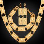 Collare Dubai African Jewelry Set For Women Gold/<b>Silver</b> Color Elephant Animal Earrings <b>Bracelet</b> Necklace Set Wholesale S339