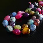 Fashion Romantic DIY Colorful Natural <b>Jewelry</b> <b>Making</b> Stone Pendants Chains Choker Handmade Women Bracelets Necklaces Wholesale