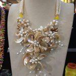 Free Shipping NEW!! Natural pearl MOP shell flower choker necklace <b>wedding</b> gift Brand <b>Jewelry</b> 2018