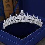 Fashion luxurious retro Paved CZ zircon Princess crown <b>wedding</b> bride dinner banquet Beauty tiaras hair <b>jewelry</b> free shipping