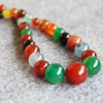 New Necklace 6-14mm multicolor Natural Onyx Beads Round DIY Necklace Women Girls carnelian 15inch Fashion <b>Jewelry</b> <b>Making</b> Design