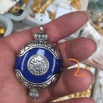 Free Shipping High Quality lapis lazuli stone pendant <b>necklace</b> 2 style can choose