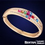 Bohemian Women Squares Crystals from Swarovski Cross Bracelet <b>Handmade</b> Temperament Bracciali <b>Jewelry</b>