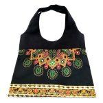 2017 African new fashion bucket bags for women <b>handmade</b> Canvas Handbag New Fashion Reusable Shopping Bags Women big bag WYb34