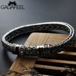 GAGAFEEL 100% 925 <b>Silver</b> Bracelets Width 8mm Classic Wire-cable Link Chain S925 Thai <b>Silver</b> Bracelets for Women Men <b>Jewelry</b> Gift