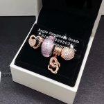 4pcs Rose Gold <b>Jewelry</b> Set I LOVE You Winding Heart CZ Dangle Charms Beads Fit DIY Bracelet Necklaces <b>Jewelry</b> <b>Making</b> Woman Gift