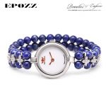 Beauties of Emperor EPOZZ nature gemstone series new quartz watch for women lapis lazuli <b>bracelet</b> luxury fashion clock H0922S1