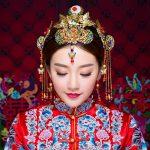 Luxury Chinese <b>Wedding</b> Brides Hair <b>Jewelry</b> Accessories Princess Queen Phoenix Hairpins Hair Combs Headdress Bridal Hair Sticks