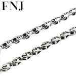 5MM Note Chain Necklace 925 <b>Sterling</b> <b>Silver</b> Men 100% S925 Solid <b>Silver</b> Link Chains Necklaces <b>Jewelry</b> Making