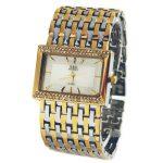 A103 G&D Brand Luxury Women's <b>Bracelet</b> Wristwatch Quartz Watch <b>Silver</b> Rhinestone Crystal Lady Dress Watch Business Reloj Mujer