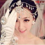 Bridal <b>Jewelry</b> Pearl Tiara Crown Wedding Head Chains Alloy Rhinestone Hair Ornaments Party Crysta Hair Cuff Pin Hair <b>jewelry</b>