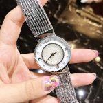 Brand Top Quality Luxury <b>Silver</b> Watch Women Waterproof Rhinestone Quartz Watches For Women Fashion Lady Tassel <b>Bracelet</b> clock