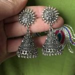 Original India Middle East Thailand Birdcage Ear Studs. <b>Handmade</b> Ancient Large Birdcage Hippie Tribal <b>Jewelry</b> Silver India Egyp