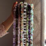 "Wholesale 10 Type Unpolished Irregular Shape Fluorite Stone Natural Stone Beads For <b>Jewelry</b> Making DIY Bracelet Strand 15.5"""