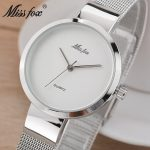 Women Watches Brand Luxury <b>Silver</b> Watch Ladies Quartz Wristwatch Woman Clock Relogio Feminino Relojes Mujer Hodinky Women
