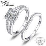 JewelryPalace Wedding Engagement Ring Sets Pure 925 Sterling <b>Silver</b> <b>Jewelry</b> Brand Birthday Present For Women Fashion <b>Jewelry</b>