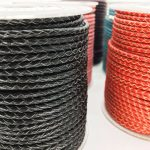 About the Fit 3mm 100Meters Genuine Braided Leather Cord Real Leather Craft Beading Accessories Lacing <b>Jewelry</b> <b>Making</b> Woven Rope