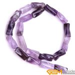 9x20mm twist column Amethysts beads natural stone beads loose beads for <b>jewelry</b> making strand 15 inches wholesale !