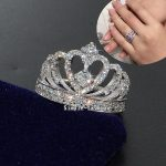 choucong Women Crown <b>Jewelry</b> Stone AAAAA zircon cz ring 925 Sterling Silver Engagement <b>Wedding</b> Band Ring for women Gift Sz 5-11