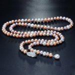 RUNZHUQIYUAN 2017 100% natural freshwater pearl long necklace 8-9 MM real pearl <b>jewelry</b> 90 CM For Women Gifts <b>wedding</b> <b>jewelry</b>