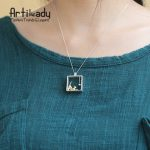 Artilady stereo 925 sterling <b>silver</b> pendant cute cat play the ball pendant for women <b>jewelry</b> gift party occasion dropshipping