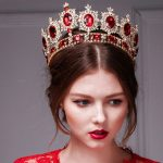 YueBanG European royal Crown Elegant Bridal Hair Accessories For Women Crystal <b>Wedding</b> Crown Zircon Hair <b>Jewelry</b> Bride Headdress