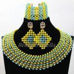 Beautiful <b>Handmade</b> Choker Necklace for Women Fashion Lace <b>Jewelry</b> <b>Handmade</b> African Wedding <b>Jewelry</b> Sets Free Shipping ABK986
