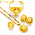 Ethlyn New Big Ethiopian Gold Color Women <b>Jewelry</b> Sets With Ethiopian Handmade Chain <b>Jewelry</b> Sets Eritrea Items S185