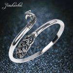 JIASHUNTAI Retro <b>Silver</b> Peacock Bangles For Women 990 <b>Sterling</b> <b>Silver</b> <b>Jewelry</b> Handmade Vintage Opening