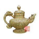 Tibet Tibetan copper kettle pot flagon home feng shui home furnishings <b>jewelry</b> <b>supplies</b>