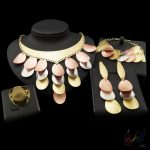 Yulaili Free Shipping Fashion Design Pure Rose <b>Silver</b> Gold Color Anniversary Jewelry Set Party Four Jewelry Sets