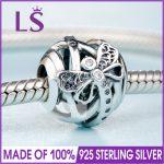 2018 Spring New Real 925 <b>Silver</b> Dreamy Dragonfly Charm Fit Original <b>Bracelets</b>&Necklace DIY Gift.Women Wedding Jewelry Beads.N
