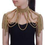 JEROLLIN 8 Colors Fashion Chunky Statement Necklace For Women Neckcklace Bib Collar Choker <b>Handmade</b> Pearl Necklace Maxi <b>Jewelry</b>