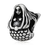 <b>Antique</b> 925 Sterling Silver Long Hair Mermaid Charms Beads <b>Jewelry</b> Wholesale fit DIY Bracelets and Necklaces Making