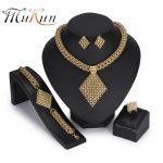 MUKUN wholesale African Beads <b>Jewelry</b> Sets Dubai Gold <b>Jewelry</b> Sets Brand Nigerian Wedding <b>Jewelry</b> Set 2018 Fashion Women Design