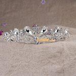 Bridal Tiara Rhinestone Crystal Hair Crown Vintage Wedding Head <b>Jewelry</b> Wedding Accessories <b>jewelry</b> forehead headbands Frontlet