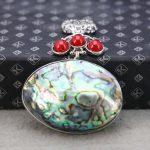 "34*52mm Natural sea shells colours paua shell beads short stripe pendant decoration <b>jewelry</b> <b>making</b> design wholesale gifts women"""
