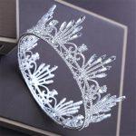 Luxury Bride Tiara <b>Wedding</b> Crown Rhinestone Princes Diadem Bridal Tiaras and Crowns Headband Hair <b>jewelry</b> accessories