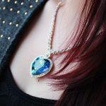 The Heart of The Sea Fashion Blue Classic <b>Jewelry</b> Sea Heart <b>Necklace</b> Austria Crystal Titanic Heart Pendant