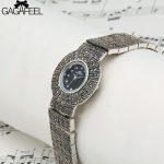 GAGAFEEL 925 Sterling <b>Silver</b> Watch Clock Women's Thail <b>Silver</b> Wristwatch Simple Quartz Watches Classic Style for Ladies Female