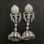 earring jackets 925 sterling <b>silver</b> with cubic zircon DIY <b>jewelry</b> you can design it with different beads tassels fashion <b>jewelry</b>