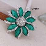 RONGQING 6.0*6.0cm Flower Brooches for women Up <b>Jewelry</b> Suit Hats <b>Antique</b> Corsages Brand Pin Brooch pins <b>jewelry</b> Free Shipping