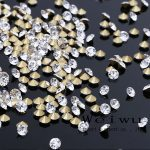 SS27 5.8~6.0mm 1440PCS Clear Crystal Color Pointed Back Shaped Rhinestones For <b>Jewelry</b> <b>Making</b>