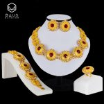 BAUS Ethiopian <b>jewelry</b> Dubai gold -color <b>jewelry</b> sets Crystal african beads <b>jewelry</b> set Choker Women Bridal <b>Jewelry</b> Set Design