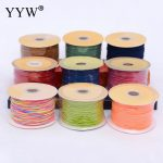1mm Satin Nylon Cord Knotting cord Jewelery <b>supplies</b> For Necklace <b>Jewelry</b> Crafts 100 Yards DIY Polyamide Cord