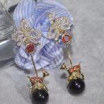 Designer Fashion 925 <b>Sterling</b> <b>Silver</b> <b>Jewelry</b> 3A Cubic Zirconia Party Earring