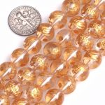 "Gem-inside 10-14mm Natural White Rock Quartz Gold Carved Dragon Turtle Tiger Phoenix Beads For <b>Jewelry</b> <b>Making</b> 15"" DIY Beads"